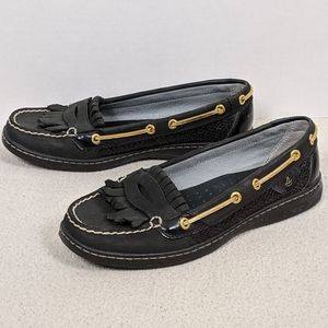 Sperry Top Sider Pearlfish Kiltie Penny Loafer 8M